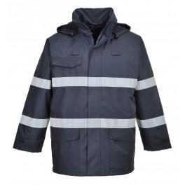 Антистатическая огнеупорная зимняя куртка Portwest S770, синий