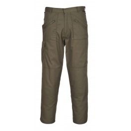 Рабочие брюки Portwest (Англия) S887 Хаки