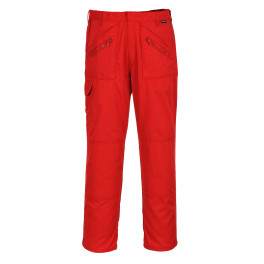 Рабочие брюки Portwest (Англия) S887 Красный