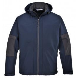Софтшелл куртка (3 слоя) Portwest (Англия) TK53, Темно-синий/черный