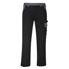 Рабочие брюки Portwest TX36, Черный/серый