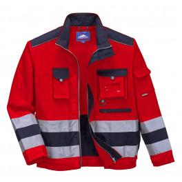 Светоотражающая куртка Portwest TX50, красный