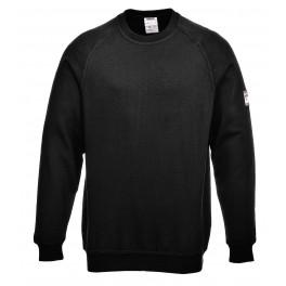 Огнезащитная антистатическая рубашка-поло Portwest FR12. Черный.