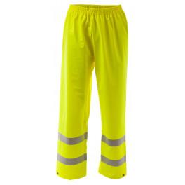 Огнеупорные антистатические брюки от дождя Portwest FR43, сигнальный жёлтый.