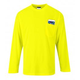 Футболка с длинным рукавом Portwest S579, желтый
