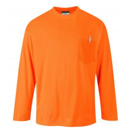 Футболка с длинным рукавом Portwest S579, оранжевый