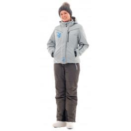 Женский зимний костюм Novatex Грация, серый