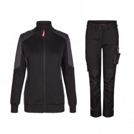 Женский летний костюм Engel 8825+2815, черный