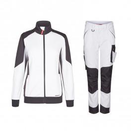 Женский летний костюм Engel 8825+2815, белый