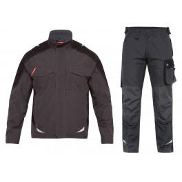 Летний костюм Engel 1810-254 + 2810-254, серый/черный
