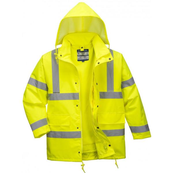 Зимняя светоотражающая куртка Portwest  S468 4 в 1, желтый