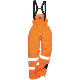 Зимние брюки на подтяжках Portwest S781, оранжевый
