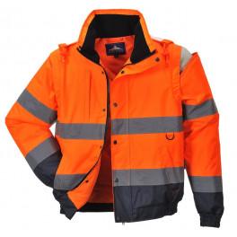 Зимняя светоотражающая куртка Portwest C468 2в1, оранжевый