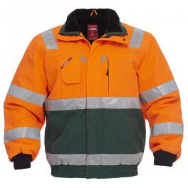 Куртка Engel Safety 1172-928, сигнальный оранжевый/зеленый