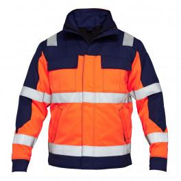 Зимняя куртка Engel Safety +  1935-830, оранжевый/синий