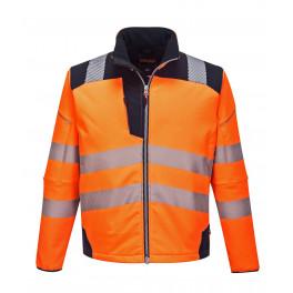 Куртка Софтшэлл Portwest T402, сигнальный оранжевый/темно-синий