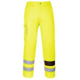 Светоотражающие брюки Portwest E046 (Англия), сигнальный желтый