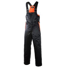 Рабочий полукомбинезон лесоруба Dimex 831 для защиты от порезов, черный/оранжевый